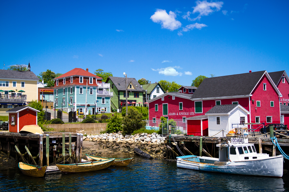 Lunenburg is such a picturesque little town. Lots of ship-building history here, and a seemingly infinite supply of delicious seafood restaurants to choose from.