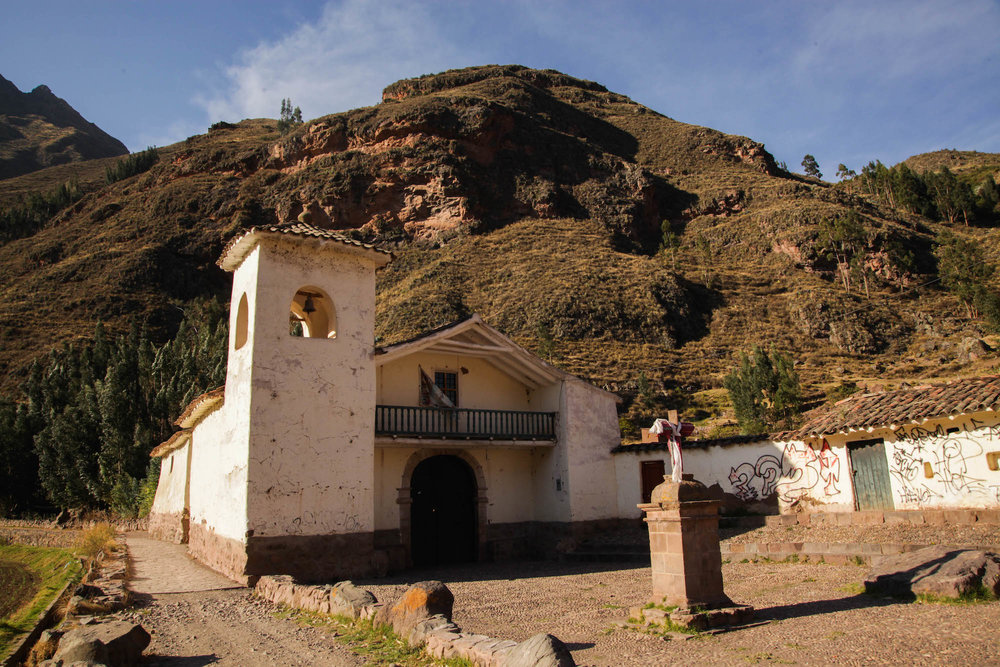 Church just outside Pisac