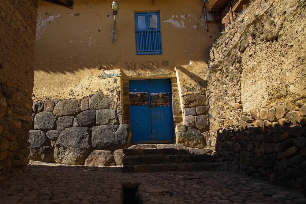 Ollantaytambo back street