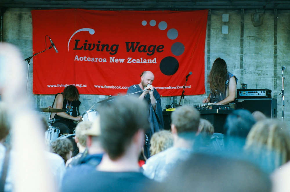 All Seeing Hand, Newtown Festival, Nikon FE2, Nikkor 85mm f2, Ektar 100 35mm film