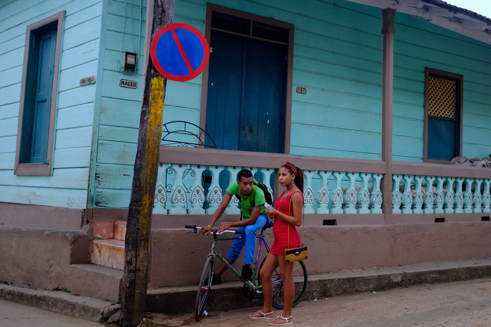 Streets of Baracoa - picture taken on Fuji X100F