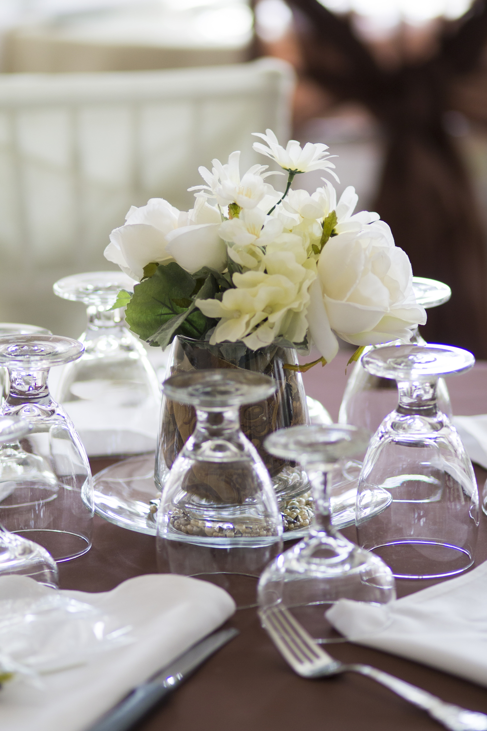 Greensboro Wedding Photographer - Wedding Centerpieces