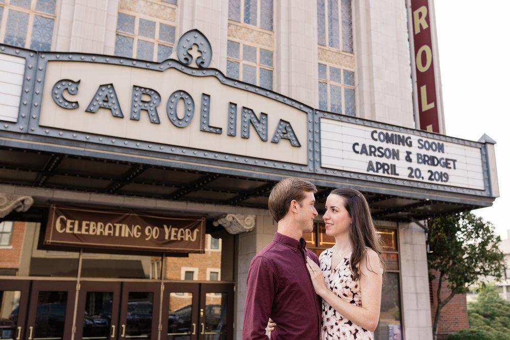 greensboro engagement photography
