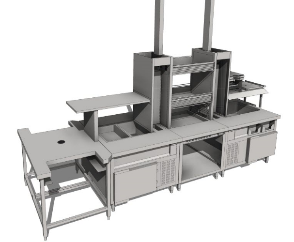 Commercial Kitchen Equipment for Chick Fil A