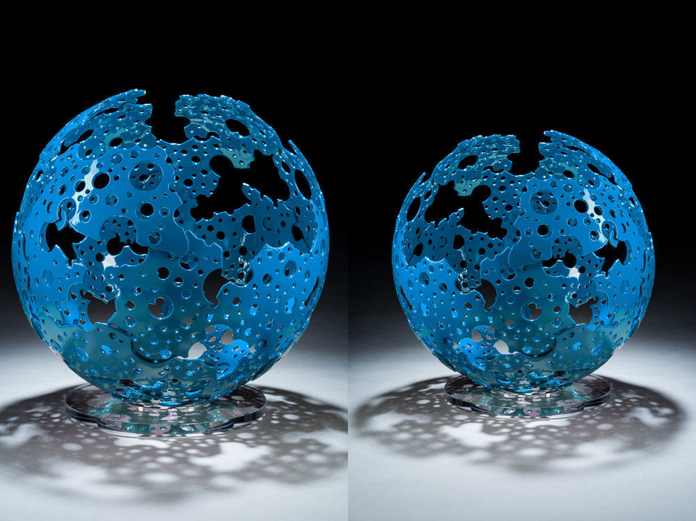 Blue Shadow Sphere