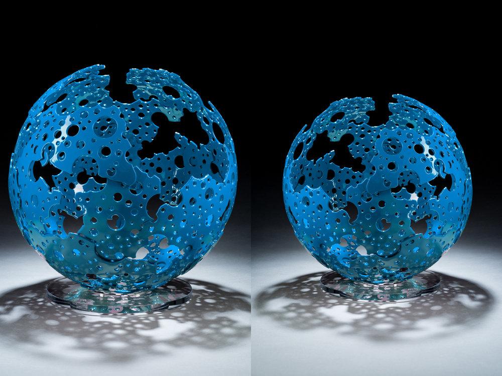 Blue Shadow Sphere