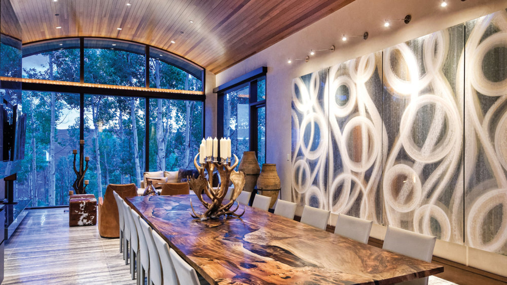 Mopani Estate - 44 Million Aspen Estate featured in:Robb Report | July 9, 2017