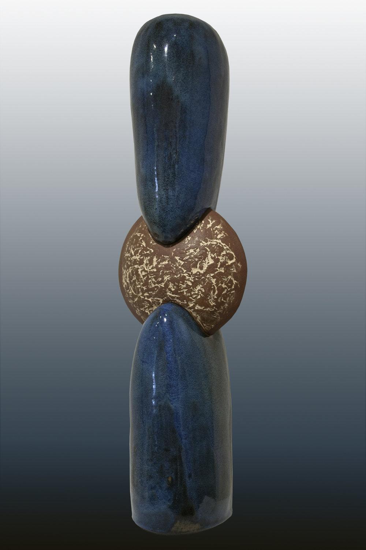 Metallic Blue Triad