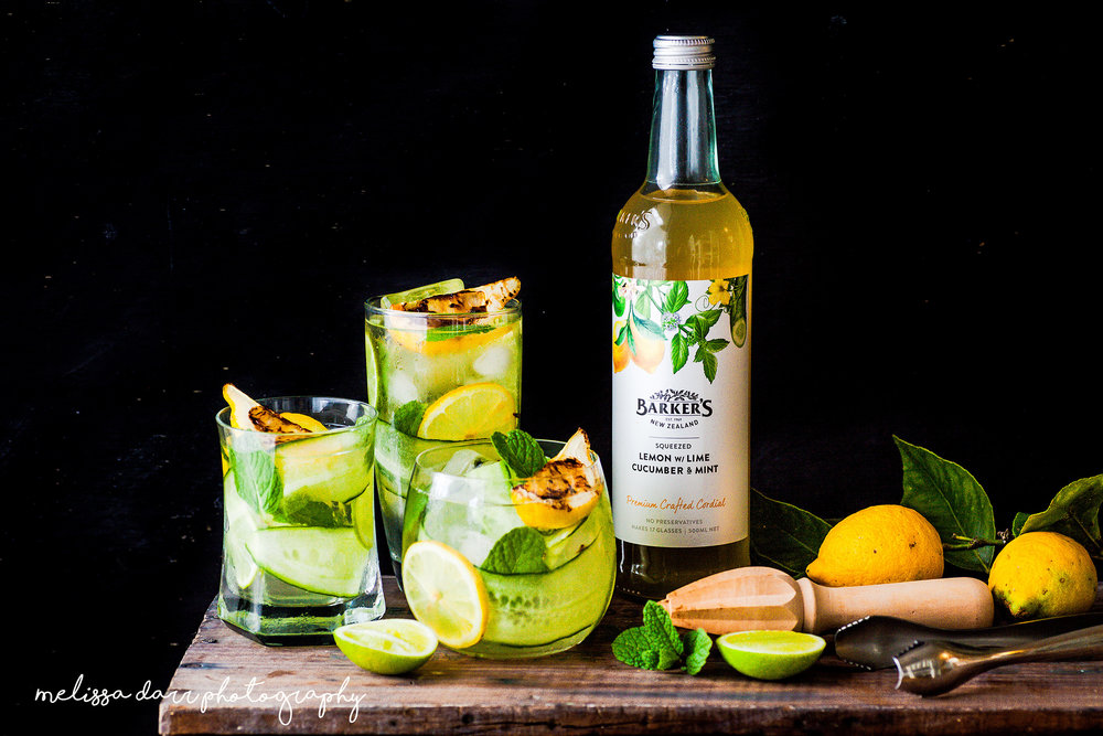 Melissa Darr Food Styling & Photography | Barker's Cordial |