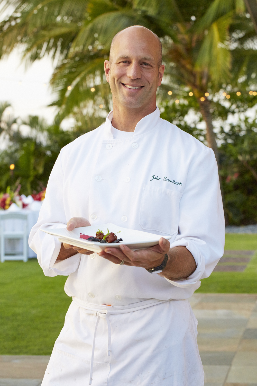 Maui Chef catering BBQ John Sandbach