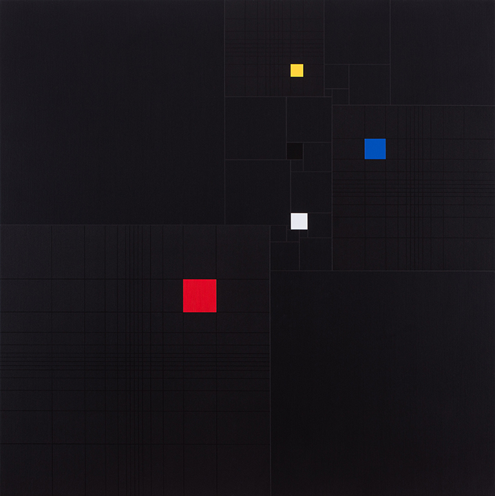 Squares in Square (with 3 Fibonacci-sequence) [20170517], 2017, acrylic on canvas, 35 7:16 x 35 7:16 in. [90x90cm]_720.jpg