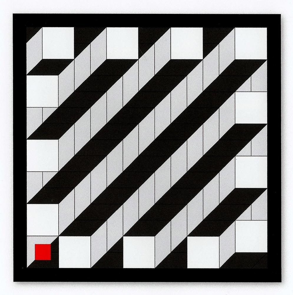 4_Werner-Dorsch-[D-1952]_Aufwaerts-oder-abwaerts_2017_acryl-auf-leinwand_100x100cm