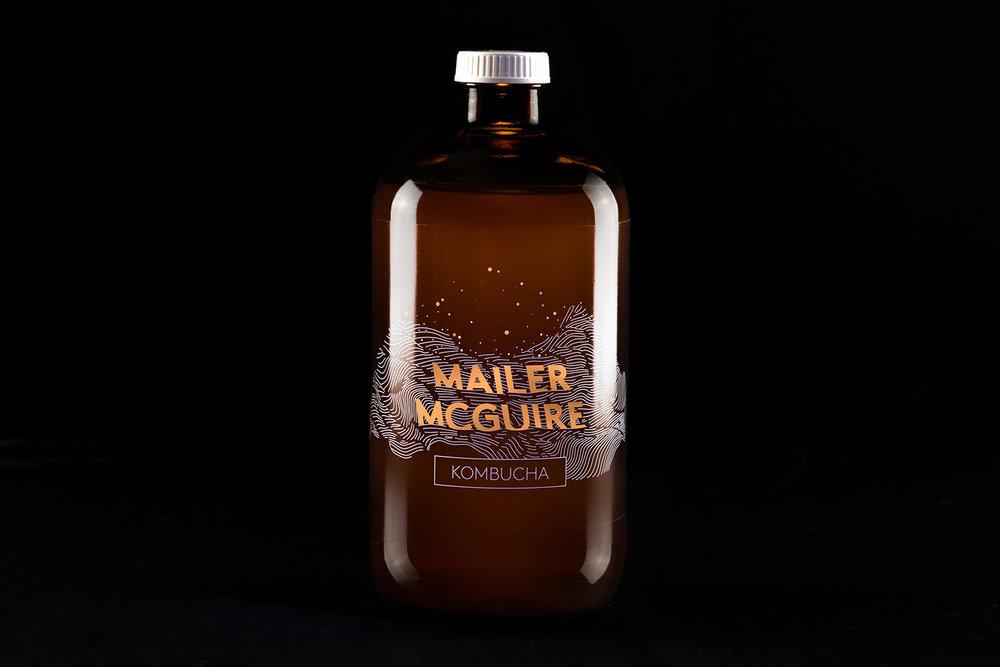 Branding, Packaging & Photography—Mailer McGuire Kombucha
