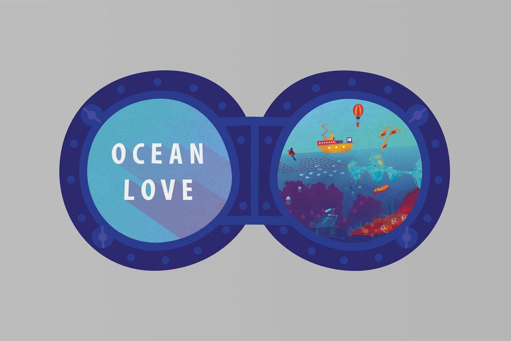 Illustration—Ocean Love