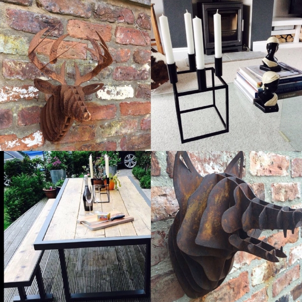 Examples of the fabulous sculptures and furniture produced by Up North Creative   Ins tagram @upnorthcreative