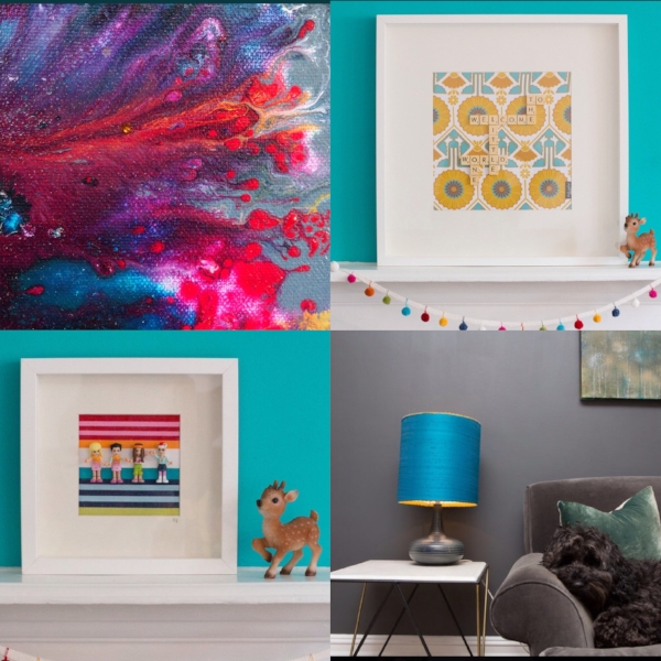 Beautiful artwork and home furnishings produced by the very talented Dani.