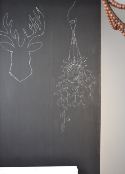 My best ever chalkboard drawing as completely copied from @artynads
