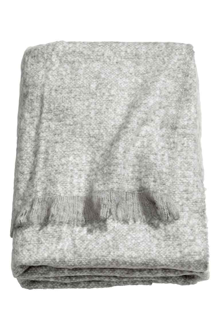 Soft Blanket , H&M Home £24.99 (seven colours available)