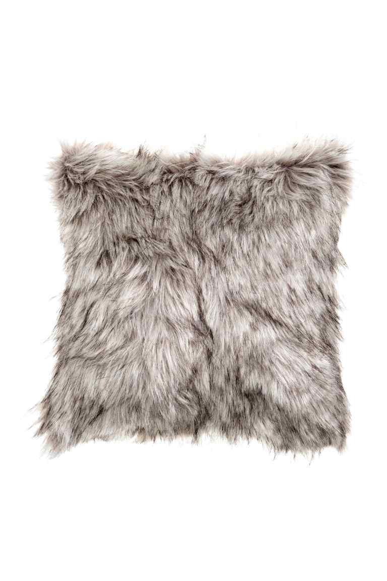 Faux Fur Cushion , H&M Home £7.99