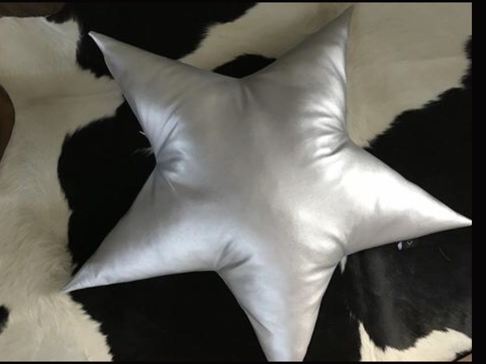 Handmade Star Cushion , Suburban Salon £65