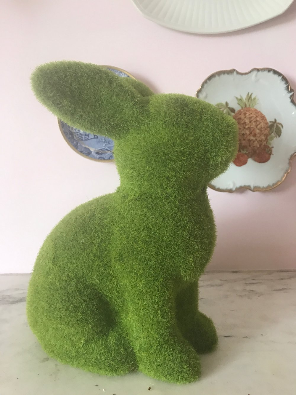 Green grass bunny from Homesense £9