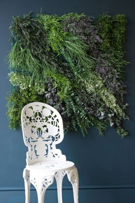 The ultimate in faux - vertical garden at  Rockett St George  £299