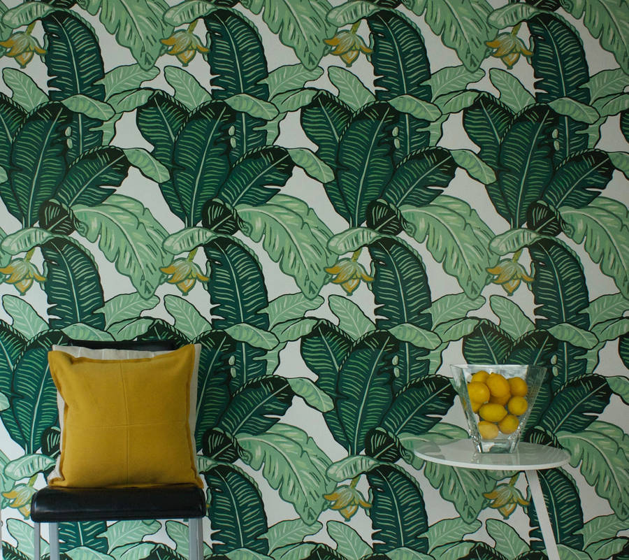 Feuilles De Luxe Wallpaper - The Loft & Us £87.50