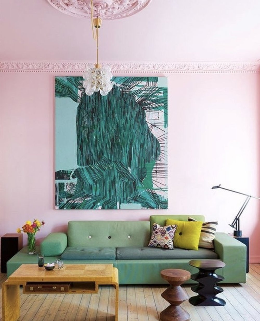 Pink room inspo.  Photography by Erin Williamson.