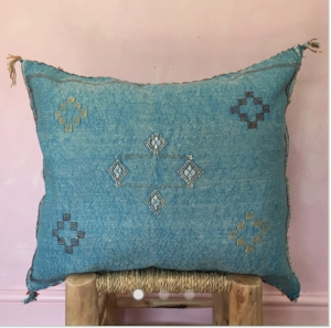 Sabre Silk Cushion £48