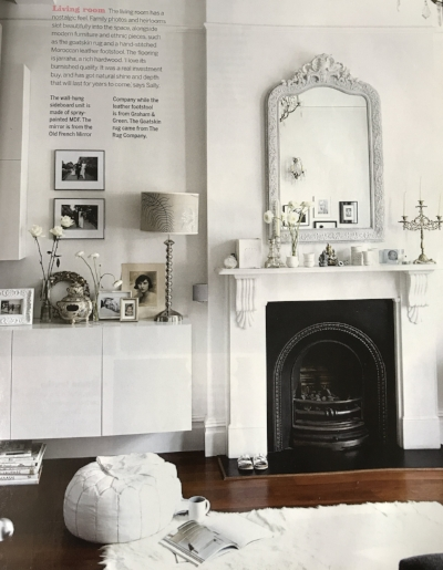 The home of  Sally Conran  photographed by  Paul Massey  for Livingetc May 2007.  I designed my entire living room around this photograph that year.