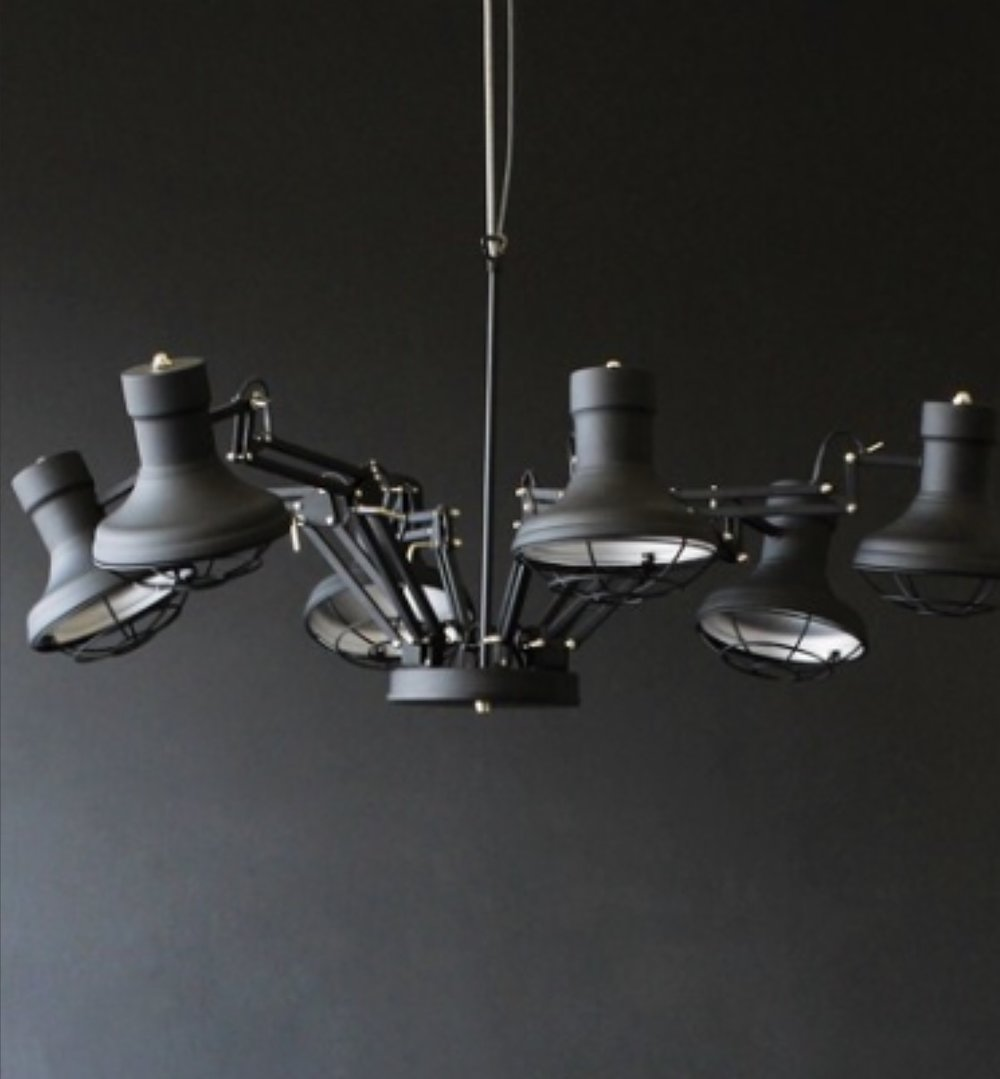5.  Six Arm Ceiling Light  £280.  This was the light that stole my heart when we moved into our house and I still love it.