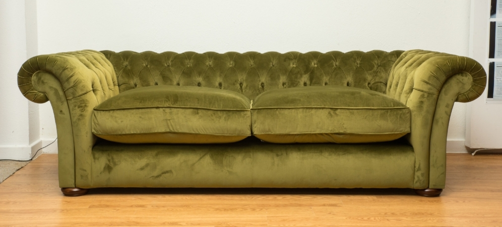 My perfect sofa, the  Winslet  in Luxor Artichoke.