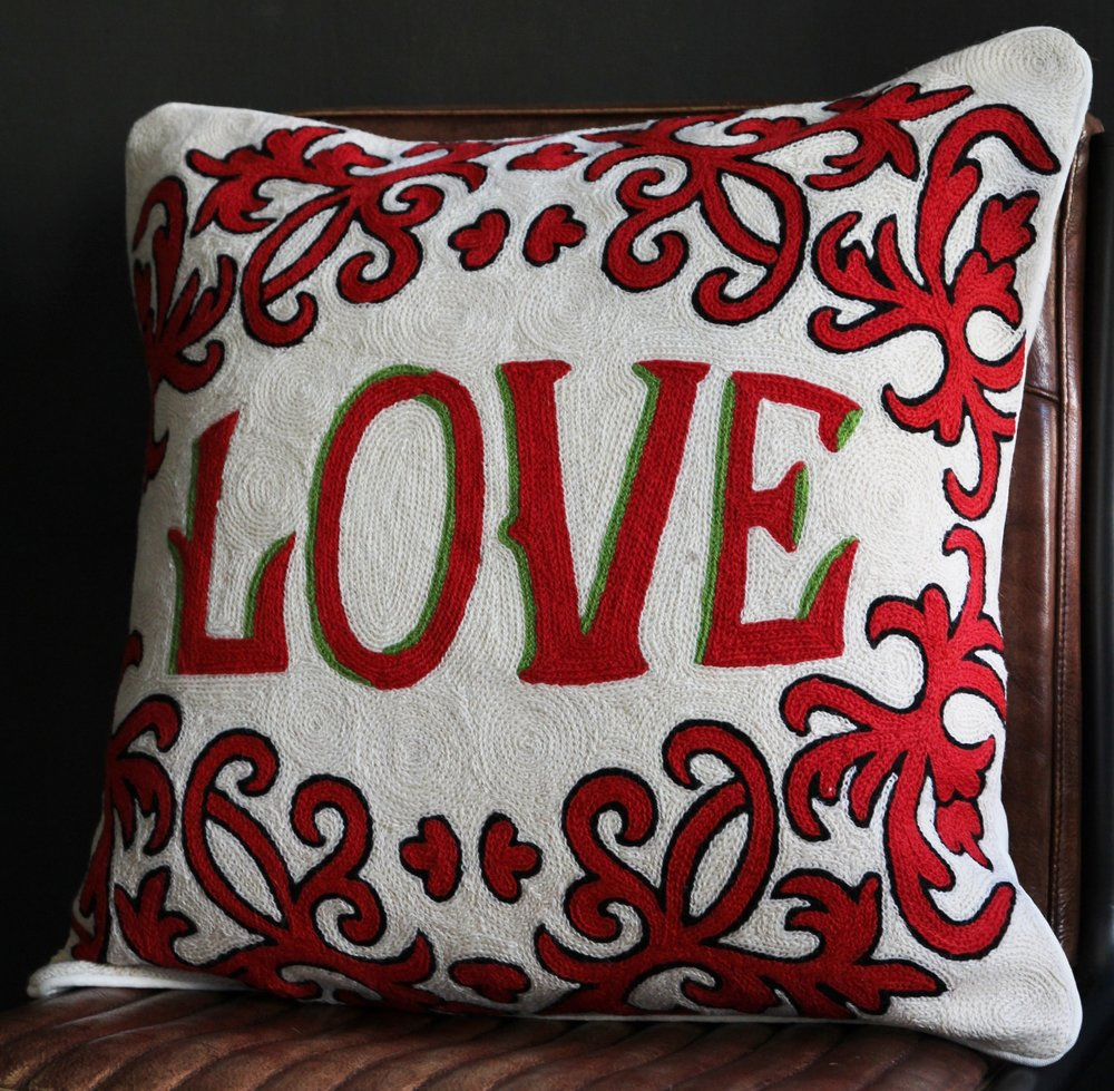 LOVE Cushion , Rockett St George £69