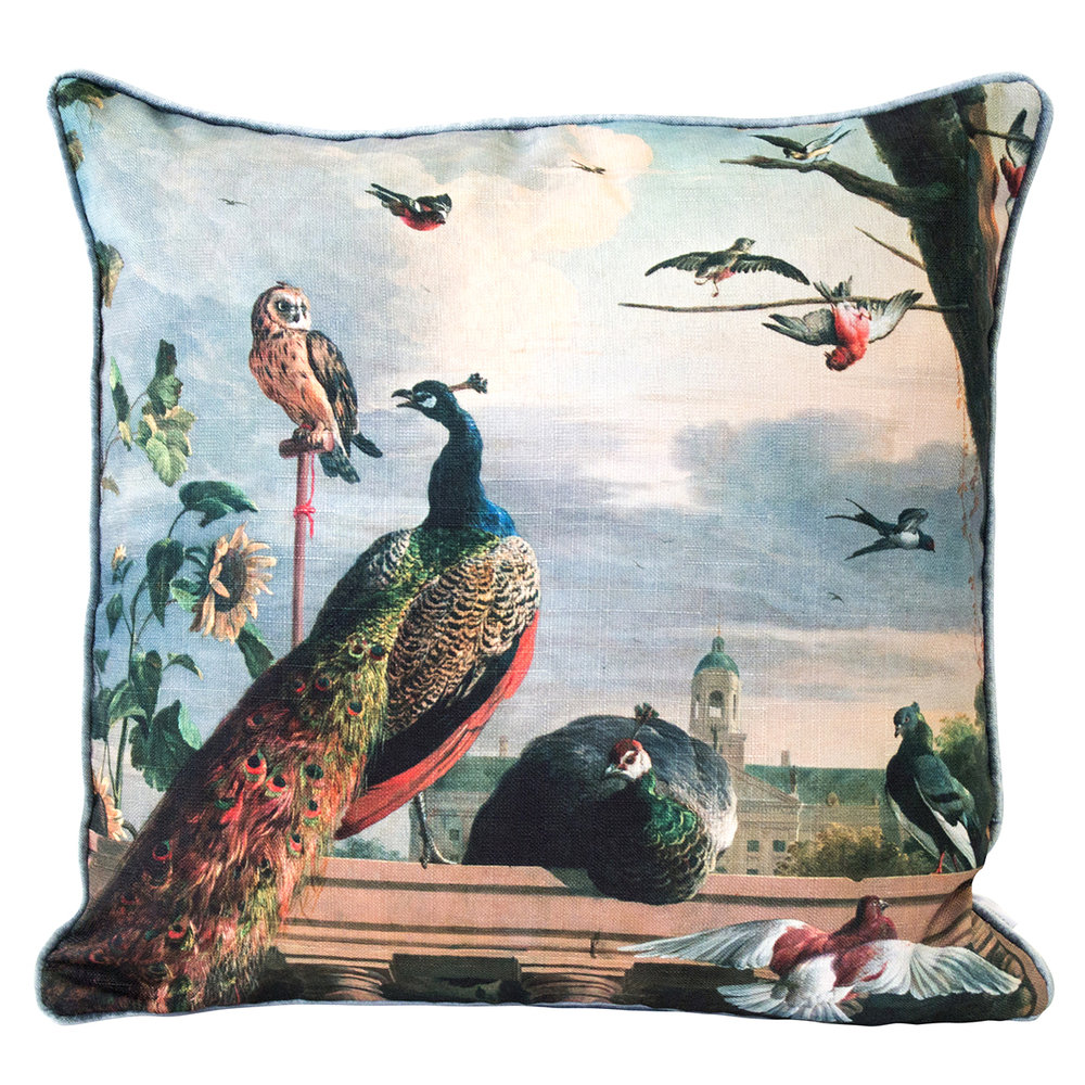 Musee Peacock Cushion , Dunelm £24