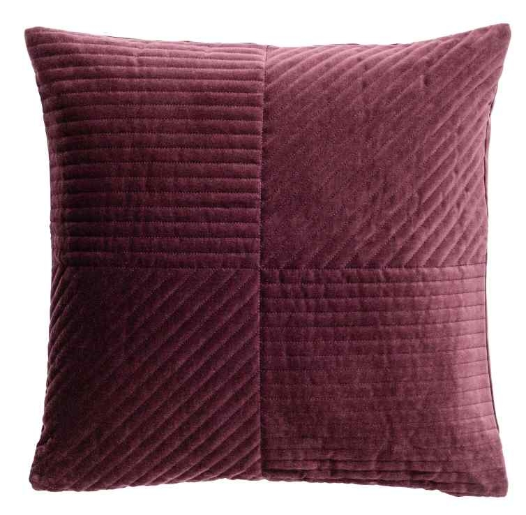 Quilted Velvet Cushion Cover,  HM Home £12.99