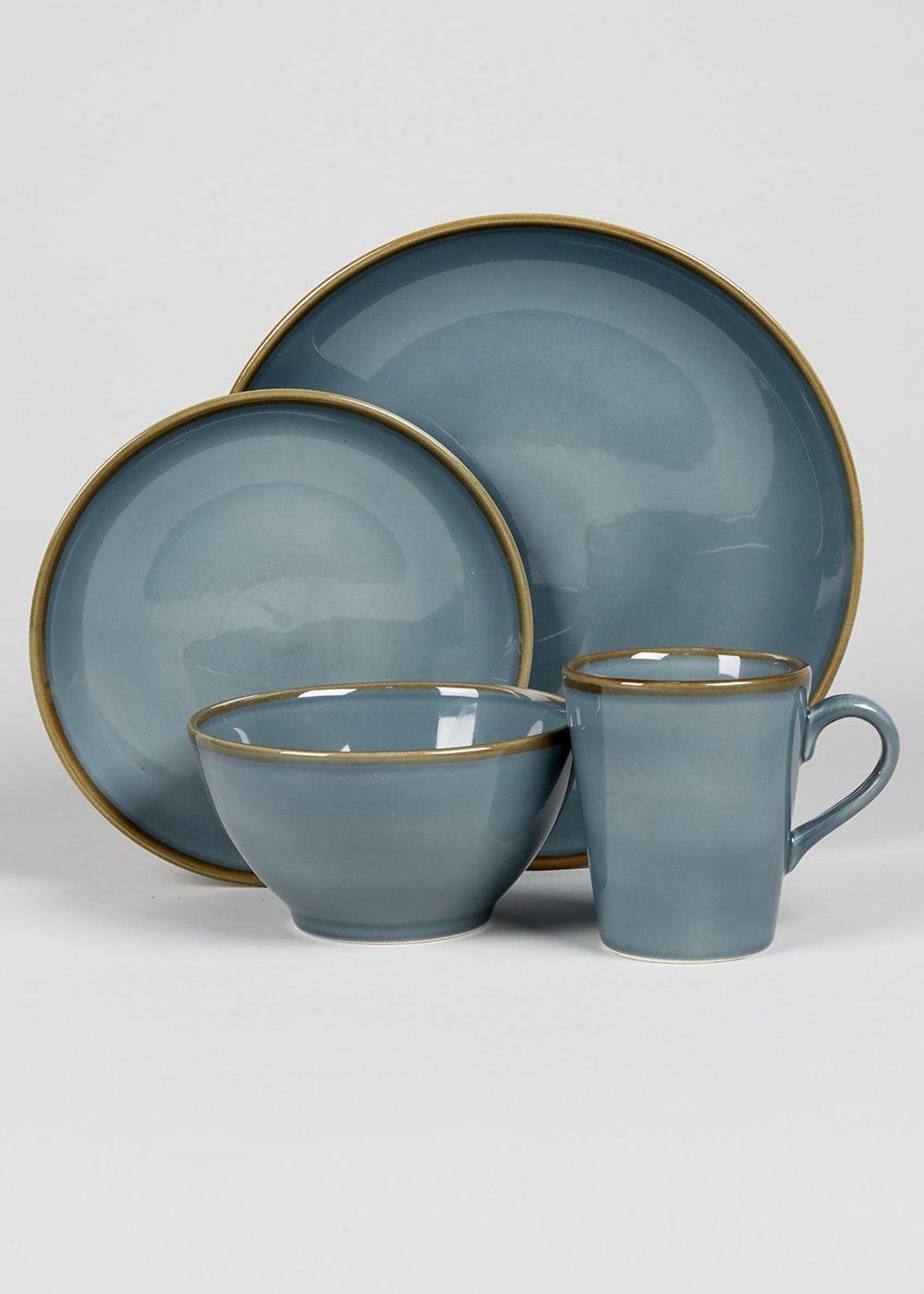 Reactive Glaze Dining Set, Matalan £3 per item