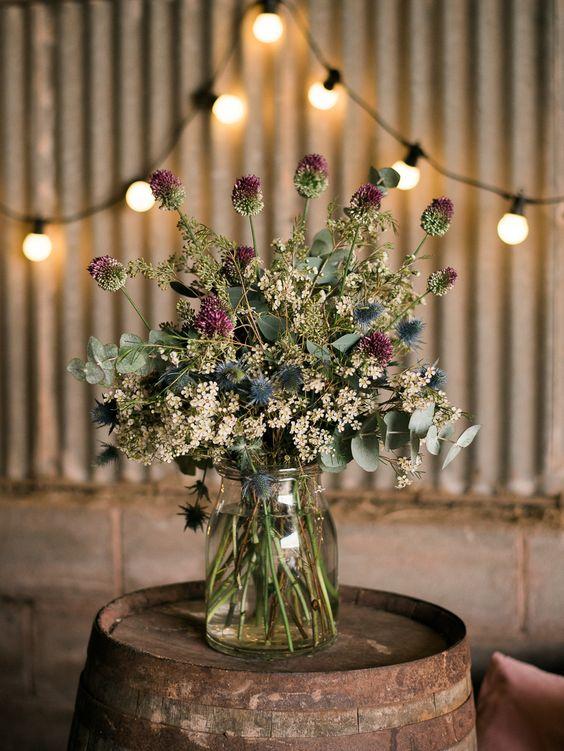 Autumn bouquet goals. Credit: Rock My Wedding