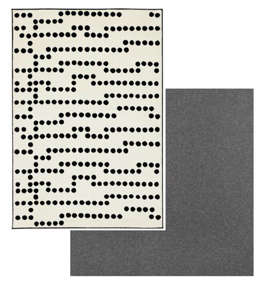 IKEA  AVSIKTLIG rug ; Brintons  Bell Twist in Flint