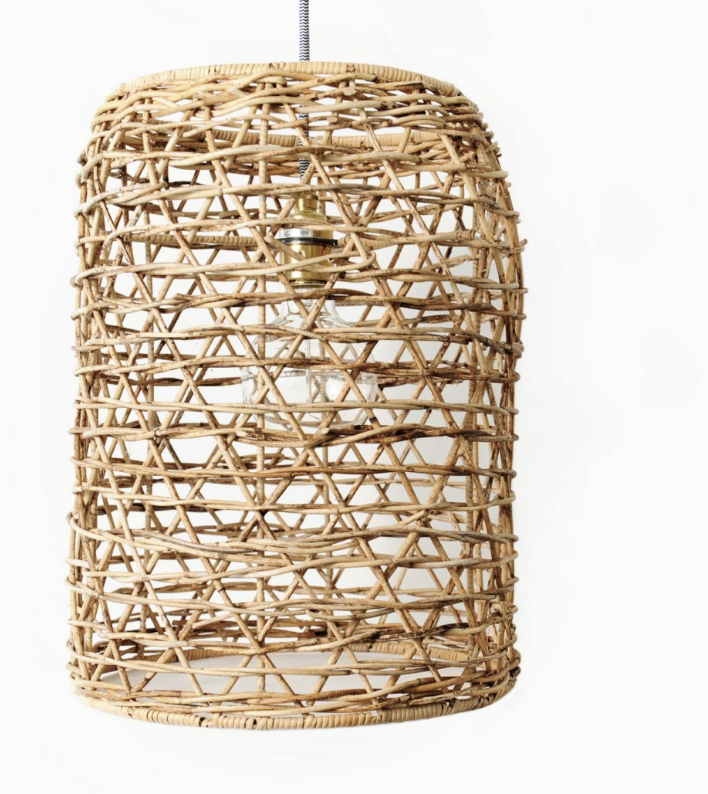 Rattan Lampshade, Grace & Glory £79.95