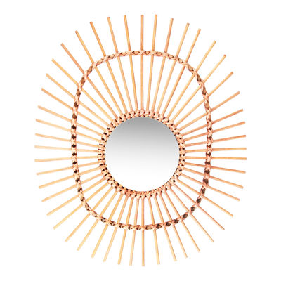 Bamboo Oval Mirror, Made In Design £44.95