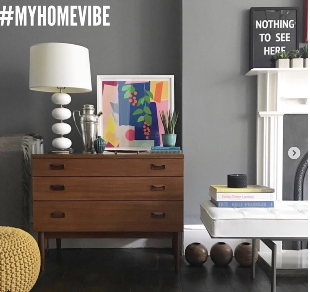 #myhomevibe , the UK's biggest interiors hashtag.  Brainchild of Fiona Cameron of  Around The Houses . Fabulous room photography courtesy of  Liz Engelsen @liznylon .