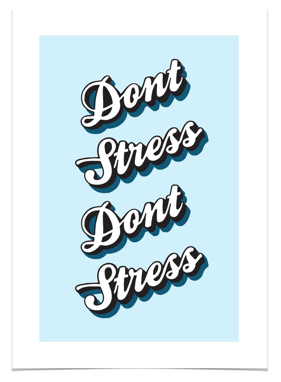 Daisy Emerson, 'Don't Stress' - £60