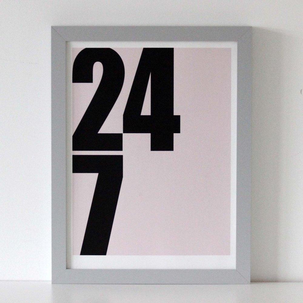 We Are Amused '24/7'  - £35