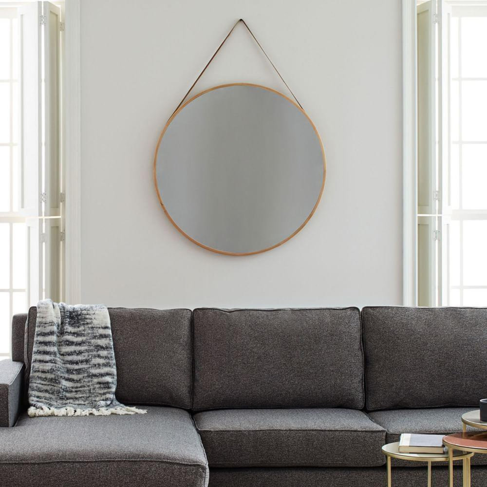 Modern Hanging Mirror , West Elm £299