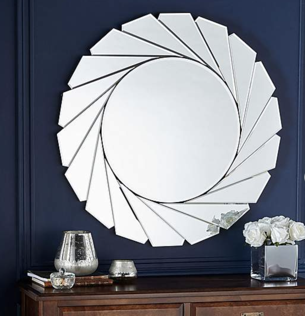 Clear Edge Mirror , Dunelm £70