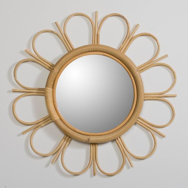 Yasu Rattan Mirror , La Redoute £60