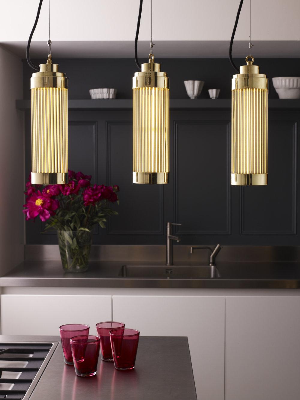 Davey Lighting,  Pillar  pendant lights