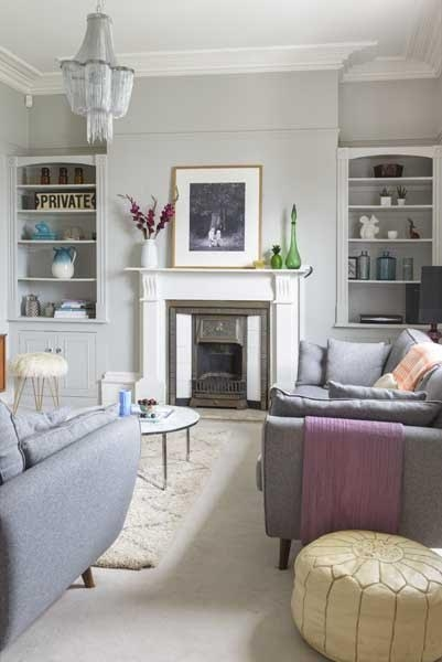 Season 1:  Living room pre revamp (photography Colin Poole)