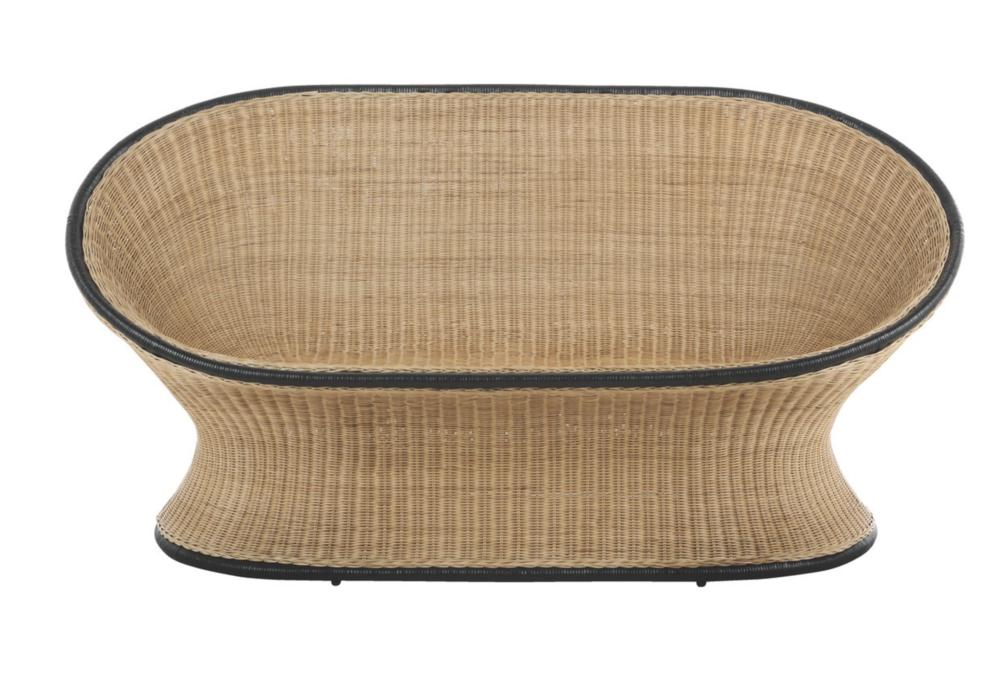 Habitat -  KOBA rattan sofa £225