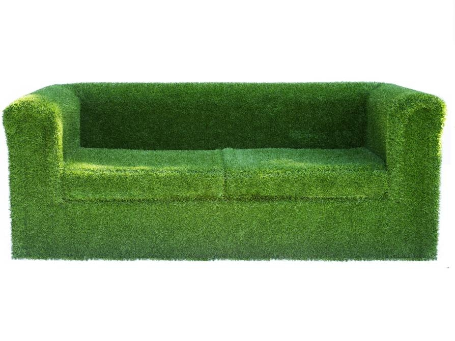 Artificial Landscapes -  Grass garden sofa £900